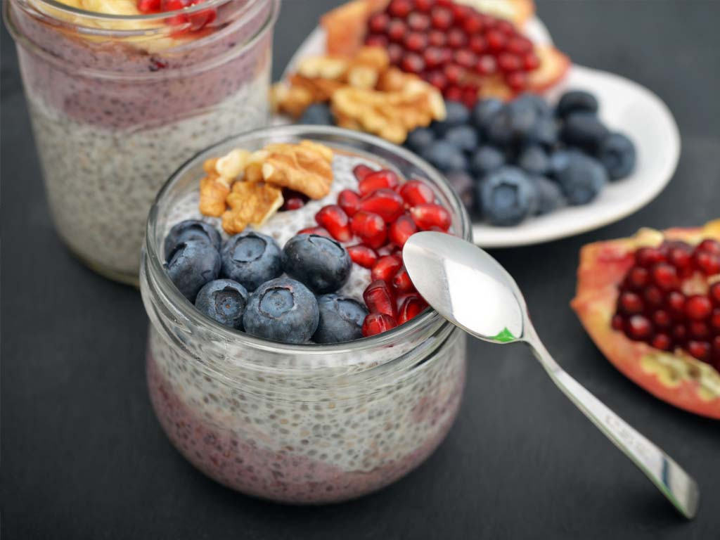 Pudding with Chia